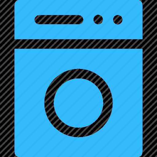 clean, laundry, washing machine icon