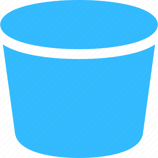 bucket, clean, water icon