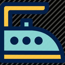 iron, ironing, laundry icon