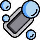 bubble, clean, cleaning, hygiene, shower, soap, wash icon