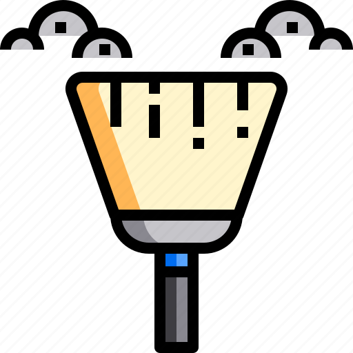 broom, chore, clean, cleaning, dirty, dust icon