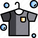 clean, cleaning, cloth, hygiene, laundry, shirt, wash icon