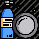 chore, clean, cleaning, dish, dishwashing, kitchen, wash icon