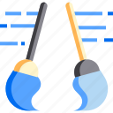 broom, chore, clean, cleaning, hygiene, mop, toilet icon