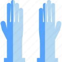 clean, cleaning, glove, hand, hospital, wash icon