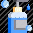 bottle, clean, gel, hygiene, shower, soap, wash icon