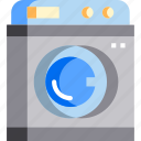 chore, clean, cleaning, laundry, machine, wash icon