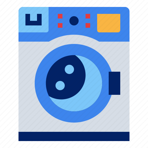 clean, home, laundry, machine, wash icon