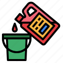 chemical, cleaner, liquid icon