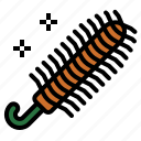 brush, dust, duster, feather icon