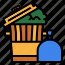 environment, garbage, trash, waste icon