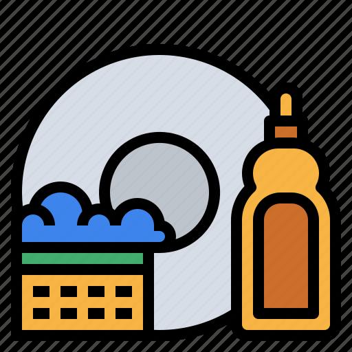 Clean, dish, kitchen, wash icon - Download on Iconfinder
