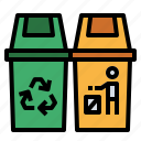 clean, garbage, recycle, trash, waste icon