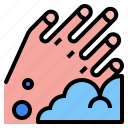 clean, hand, wash icon