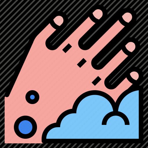 clean, hand, wash icon