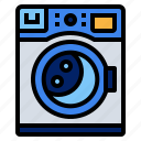 laundry, machine, wash icon