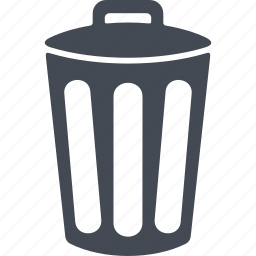 cleaning, garbage, tank, trash can icon