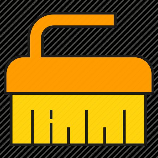 brush, cleaning, hygiene, sanitation icon