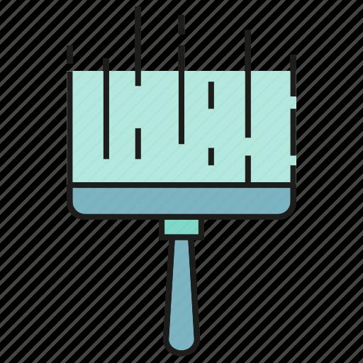 brush, cleaning, hygiene, sanitation, wash icon
