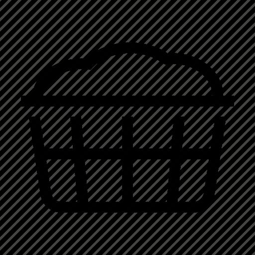 basket, cleaning, clothind, dress, housekeeping, laundry icon