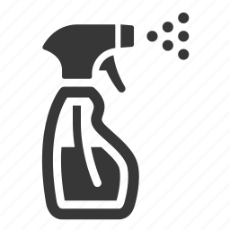 cleaning, spray icon