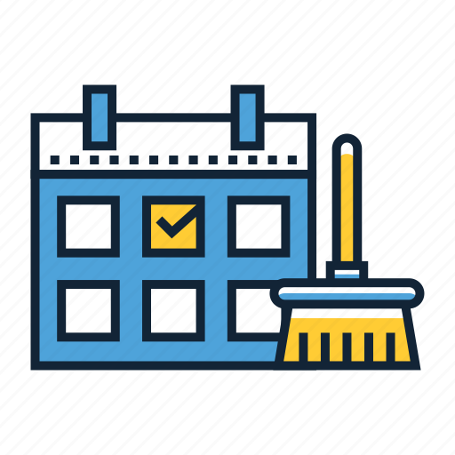 book, cleaner, rent icon