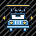 car, carwash, wash icon
