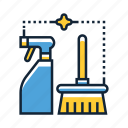 business, cleaning, service icon