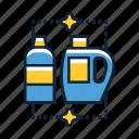 chemicals, detergent, washing icon