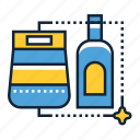 chemical, cleaner, homemade icon