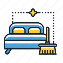cleaning, deep, mattress icon