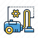 cleaner, hoover, vacuum icon