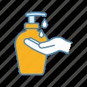 bottle, cream, gel, hand, liquid, lotion, soap