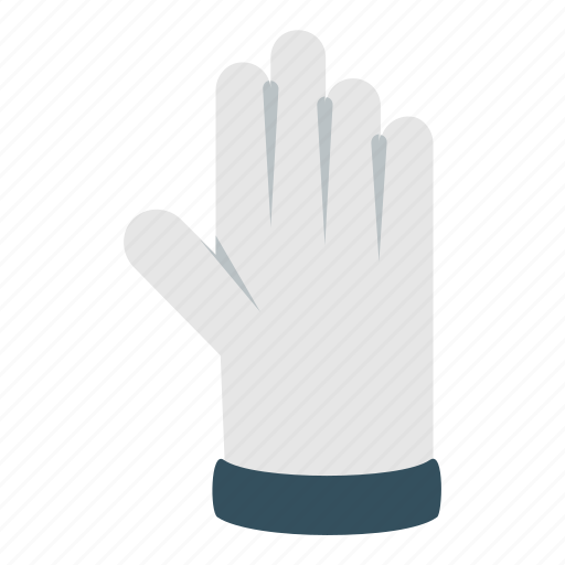 Glove, hand, housekeeping, prtection, rubber, tool, toxic icon - Download on Iconfinder
