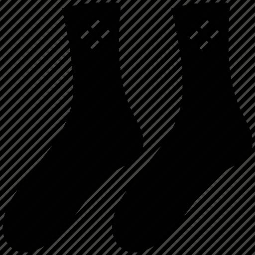 clothes, fashion, foot, footwear, socks icon