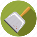 chores, cleaning, dustpan, equipment, household, housework, utensil icon