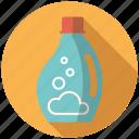 bottle, chores, equipment, fabric softener, household, laundry, utensil icon