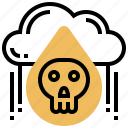 acid, dead, pollution, rain, water