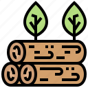 deforestation, forestry, harvest, logging, timer icon