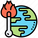 change, climate, global, heat, warming icon