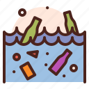 ocean, polution, weather, natural, disaster, ecology icon