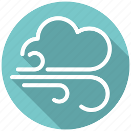 breeze, climate, cloud, storm, weather, wind icon