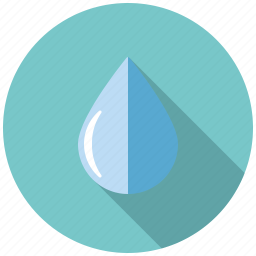 climate, drop, humidity, raindrop, water, weather icon