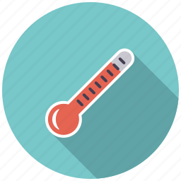 climate, hot, summer, temperature, thermometer, warm, weather icon