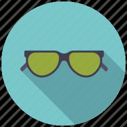 climate, shades, sunglasses, sunny, sunshine, weather icon
