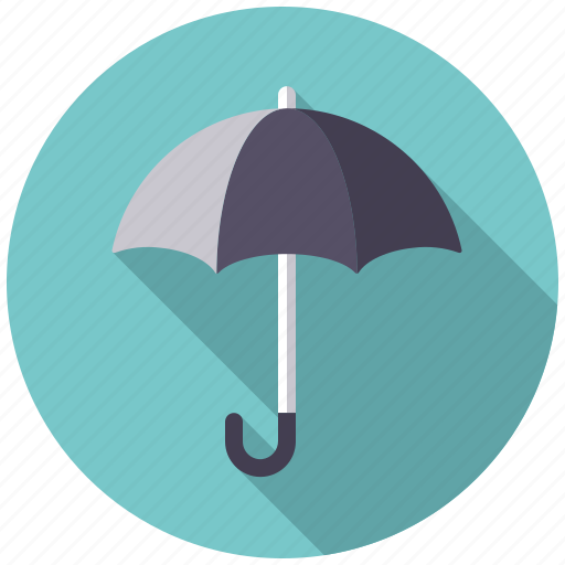 climate, rain, rainy, umbrella, weather icon