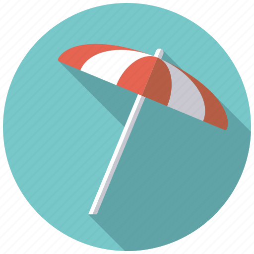 climate, parasol, summer, sunny, sunshade, weather icon