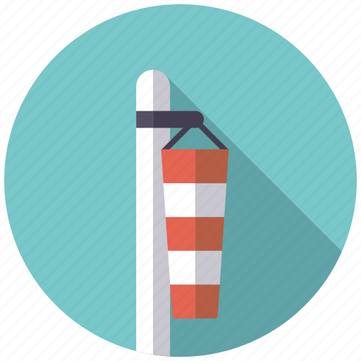 calm, climate, doldrums, pole, weather, windsock icon
