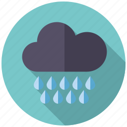 climate, cloud, heavy rain, rain, rainy, weather icon