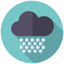 blizzard, climate, cloud, hail, hailstorm, weather icon
